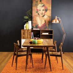 OZ Design Furniture Winter 2014; Vamp dining table