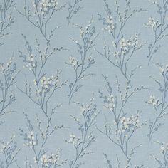 Laura Ashley Pussy Willow Seaspray Wallpaper #lauraashleyhome