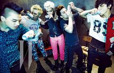 Bigbang for W Korea