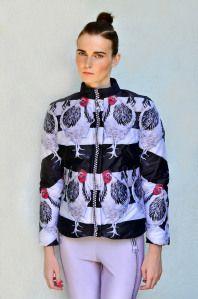 Beautiful/Decay Artist & Design - Lana Dumitru's Art Inspired Hyper Fashion Hooded Jacket, Bomber Jacket, Fashion Forever, Naive, Digital Prints, Sportswear, Photos, Vogue, Graphic Sweatshirt