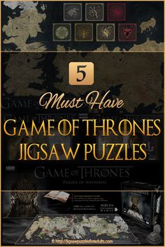 Looking for Game Of Thrones Jigsaw Puzzles? If you're a diehard Game of Thrones fan you'll love all these awesome cool jigsaw puzzles. There's not only 1000 piece jigsaw puzzles but also puzzles and also some cool Cityscape puzzles. Cool Jigsaw Puzzles, Difficult Jigsaw Puzzles, Game Of Thrones Map, Map Puzzle, Puzzle Games, Hobbies For Couples, How To Relieve Stress, Booklet