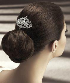 Pronovias präsentiert Ihnen den Kopfschmuck T20-5431 für die Braut. | Pronovias