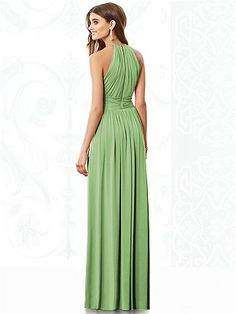 After Six Bridesmaids Style 6696: The Dessy Group Apple Slice Color