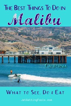 Malibu is quintessential California. It's beautiful beaches and swaying palm trees. It's bronzed surfers and celebrity homes. It's chic shopping, hip restaurants and local seafood spots. Whether you are going to Malibu for the day, the weekend or an entire week, we've got you covered with the best things to do in Malibu, California! Usa Travel Guide, Travel Usa, Travel Guides, Budget Travel, Travel Tips, San Diego Travel, San Francisco Travel, Malibu California, California Vacation