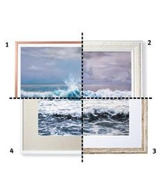 How to Choose the Right Type of Frame   There's more than one way to maximize a piece of art. (In fact, there are at least four.) Corporate framing director Jeffrey Feigenheimer, of New York City's A.I. Friedman, suggests a few beautiful borders to help you get the hang of it.