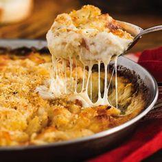Cheesy Crab and Gnocchi Bake