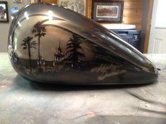 Pinstriping, Custom Paint, Bike, Painting, Home Decor, Art, Motorbikes, Bicycle Kick, Homemade Home Decor