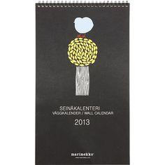 Marimekko 2013 Wall Calendar in Accessories   Crate and Barrel
