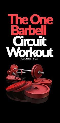 Most circuit training routines are not practical in a busy gym. Here a routine that requires just one barbell. #circuit #circuittraining #intervaltraining #hiit #workout #gym #gymlife #lifting #fatloss #fatburning