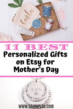 Personalized Mothers Day Gifts On Etsy: 11 Fantastic Gifts
