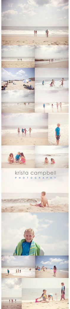 Northwest Arkansas Photographer Krista Campbell Photography, beach