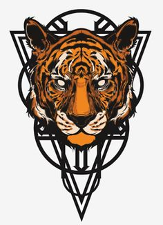 Little tiger mock up I did. (c) Hydro74