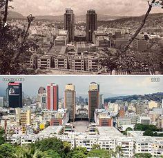 Reurbanización El Silencio. Centro Simón Bolívar (1950-2010) Paris Skyline, New York Skyline, Retro, City, Travel, Instagram, Nostalgia, Doll, Fabric