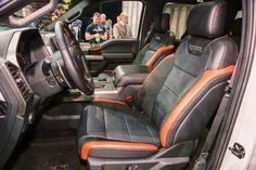 2017 Ford Raptor Seating