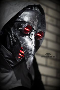 Incurable - cyber plague doctor mask by TwoHornsUnited.deviantart.com on @deviantART