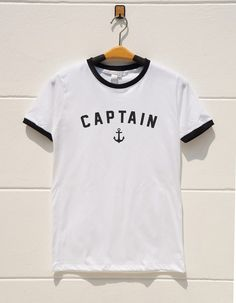 S M L XL  Captain Tshirts Graphic Tshirts Teen Tumblr by monopoko