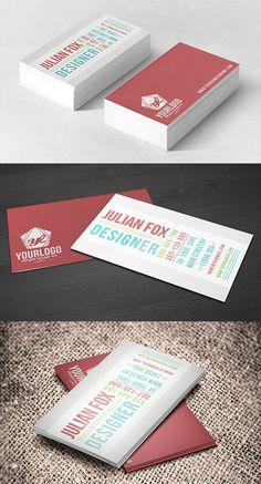 Modern Design Business Cards (25 Templates) - 21