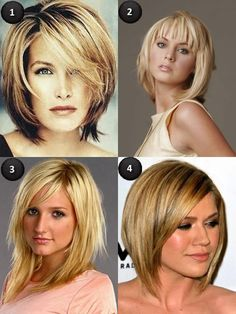 Medium Layered Hairstyles the 2nd or 3rd picture.....