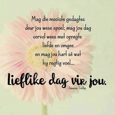 Good Morning Messages, Good Morning Wishes, Day Wishes, Good Morning Quotes, Lekker Dag, Evening Greetings, Afrikaanse Quotes, Goeie More, Special Quotes