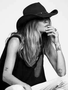 San Diego Hat Co. Womens Sloane Felt Cowboy Hat from Free People. Shop more products from Free People on Wanelo. Erin Wasson, Rockers, Felt Cowboy Hats, Cowgirl Hats, Magazine Mode, Style Noir, Mein Style, Cow Girl, Mode Boho