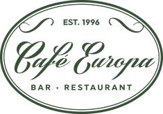 Café Europa | Cafe & Bar Restaurant Cafe Bar, Barista, Restaurant Bar, Dj