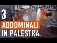 Come fare gli ADDOMINALI in PALESTRA correttamente - YouTube