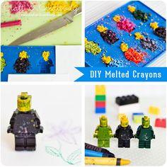 DIY: melted crayons