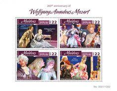 "MLD16408a 260th anniversary of Wolfgang Amadeus Mozart (Wolfgang Amadeus Mozart (1756-1791), Opera ""The Pretend Garden-Maid""; Opera ""The Impresario""; Opera ""Apollo and Hyacinth""; Opera ""The Pretend Garden-Maid)"