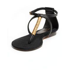Definitely WANT! Zanzibar Leather Sandal by EDUN