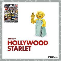 NEW HOLLYWOOD STARLET LEGO MINIFIGURE SERIES 9 - SEALED IN BAG - SHIPS FAST RARE #lego #afol #ebay #legoEbay #minifigure #spcbot @spcbot
