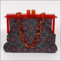 1950s Tapestry Handbag.