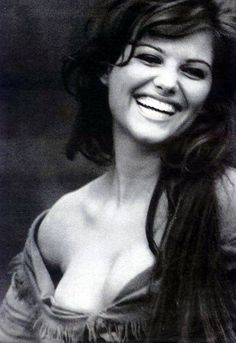 Claudia Cardinale, what a diva! Could her smile be anymore captivating???