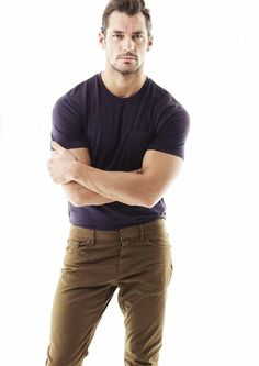 David Gandy for Men's Fitness Magazine  by Glen Burrows