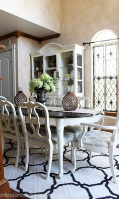 Dining Room Table Makeover   Idea paint, Dining room table and Paint ...
