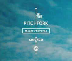 :.. Pitchfork Music Festival Annouces Initial Lineup | Under The Radar  ~ #LogoDesign #GraphicDesign #Inspiration