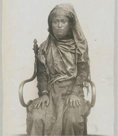 Indonesian heroine Cut Nyak Dien (1850-1908), Sumatra. Date unknown.
