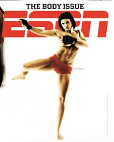 Gina Carano, like a boss! Can't wait to get back to Muay Thai training!