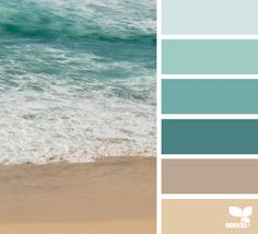 Color Shore via @designseeds