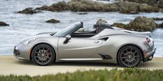 The new Alfa Romeo Spider convertible: exhilaration exposed! Luxury Sports Cars, Cool Sports Cars, Sport Cars, Cool Cars, Race Cars, Alfa Romeo 4c, Alfa Romeo Spider, Spider Pictures, Car Pictures