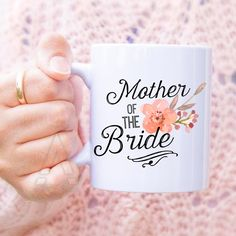 gifts for mother of the bride, mother of the bride gift ideas, wedding gifts for parents, mother of bride gifts, coffee mug, presents MU246 by artRuss on Etsy