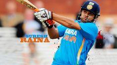 Suresh Raina Latest Cricket match India batting Images at Hdwallpapersz.net