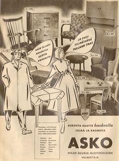 70+ Best Askon vanhoja lehtimainoksia ja julisteita images