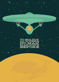 To Boldly Go Where Has Gone Before  Andrew Heath's Pop Culture Illustrations - mashKULTURE