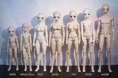 Dollfie Dream Body Line up Clay Dolls, Doll Toys, Smart Doll, Ball Jointed Dolls, Statue, Boys, Crafts, Image, Baby Boys