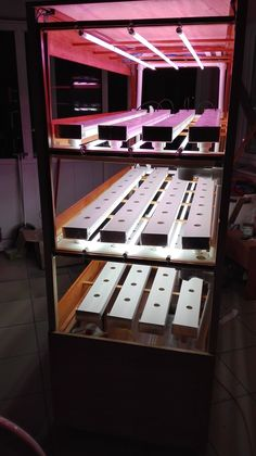Hydroponic automated self Growing unit for indoor. by Hydroser #hydroponicgardening