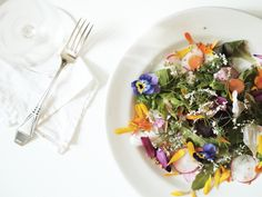Eatable flowers