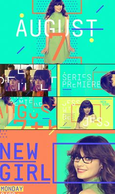 TBS - NEW GIRL PROMO PACKAGE - STATE DESIGN