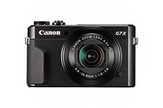 Canon PowerShot G7 X Mark II (Black), 2016 Amazon Hot New Releases Point & Shoot Digital Cameras  #Photography