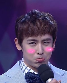 Nichkhun 2PM  - How cute he is!!! Cre: From Happy Camp show