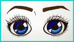 Eyes blue #Sketch  #Sketchbook